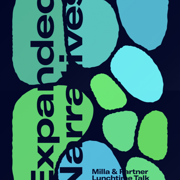 »Expanded Narratives«. Poster by S. Winter