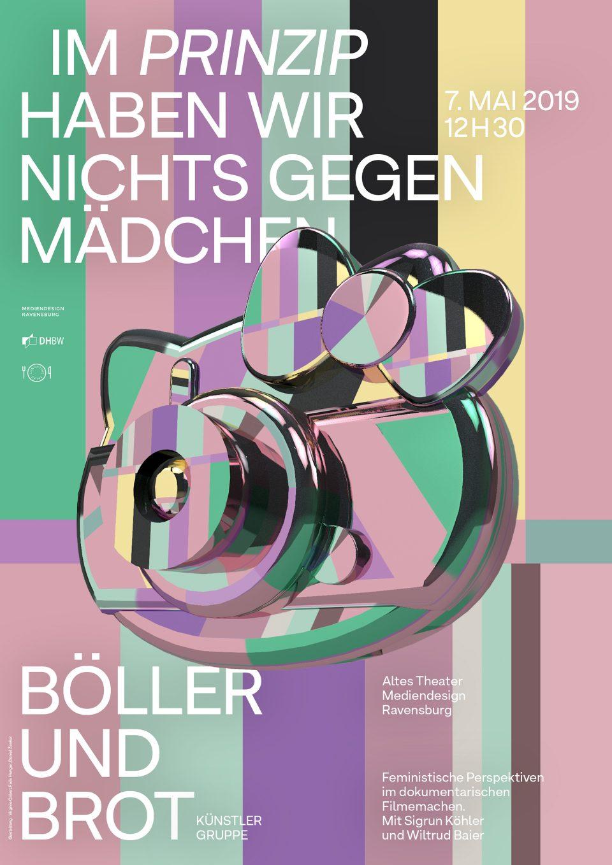 Plakat: Virginie Calvet, Felix Hunger, Daniel Zenker